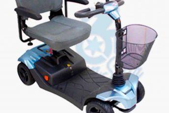 Alquiler de scooter pequeño eléctrico desmontable en Las Palmas Gran Canaria con MibienStar
