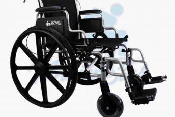 Alquiler de silla de ruedas con frenos en manillas en Las Palmas Gran Canaria con MibienStar