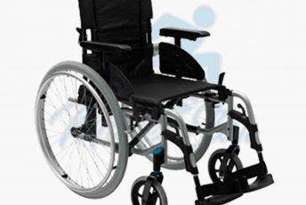 Alquiler de silla de ruedas de aluminio para anciano o movilidad reducida o minusválido en Las Palmas de Gran Canaria con posibilidad de opción a compra con MibienStar