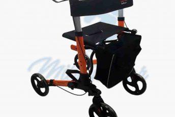 Alquiler de andador deluxe con ruedas estándar o rollator para caminar taca taca para anciano en Las Palmas de Gran Canaria con posibilidad de opción a compra con MibienStar