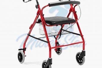 Alquiler de andador con ruedas estándar o rollator para caminar taca taca para anciano en Las Palmas de Gran Canaria con posibilidad de opción a compra con MibienStar