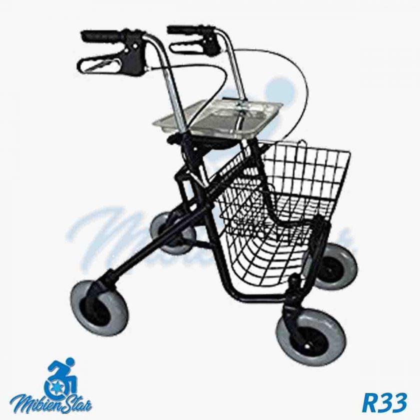 Alquiler de andador con ruedas o rollator para caminar taca taca para anciano en Las Palmas de Gran Canaria con posibilidad de opción a compra con MibienStar