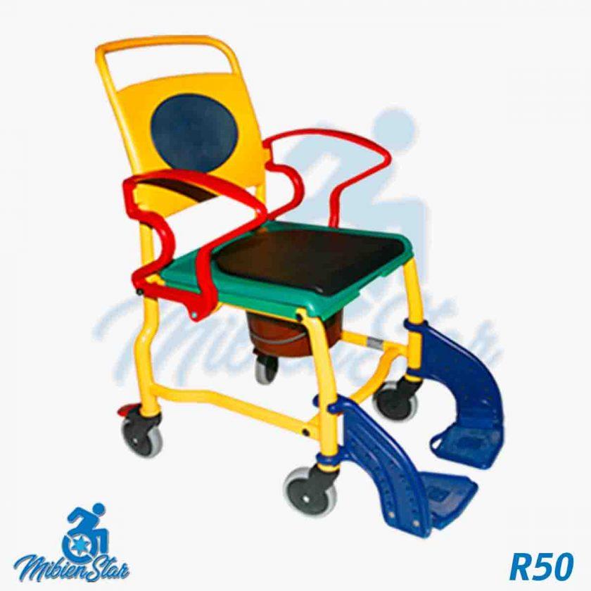 Alquiler de sillas de ducha para aseo y baño e inodoro en Las Palmas y Gran Canaria con posibilidad de opción a compra con MibienStar
