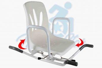Alquiler de silla o asiento giratorio para bañera o baño o aseo para anciano con movilidad reducida o minusválido en Las Palmas Gran Canaria