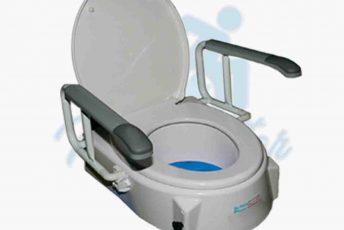 Alquiler de elevador alza de váter inodoro para baño de anciano con movilidad reducida o minusválido en Las Palmas Gran Canaria