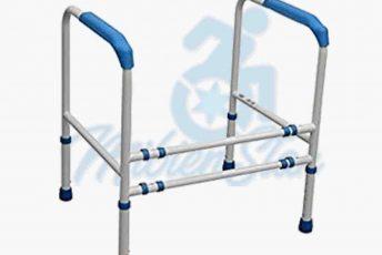 Alquiler de marco de inodoro váter ajustable para baño para anciano con movilidad reducida o minusválido en Las Palmas Gran Canaria