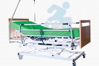 Alquiler de cama articulada eléctrica de hospital con colchón y asideros e incorporador para movilidad reducida en Las Palmas Gran Canaria