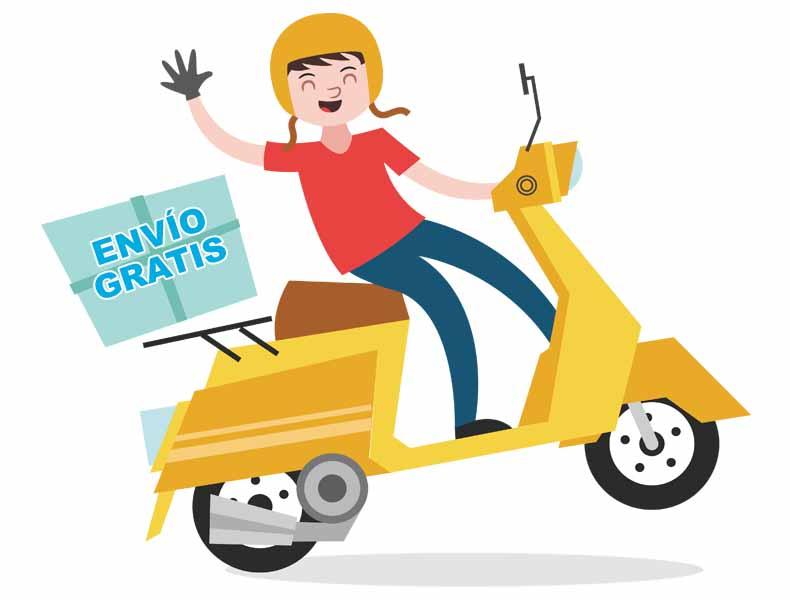 Envío GRATIS en Gran Canaria de tus artículos de ortopedia y compras realizadas en la tienda online de MibienStar